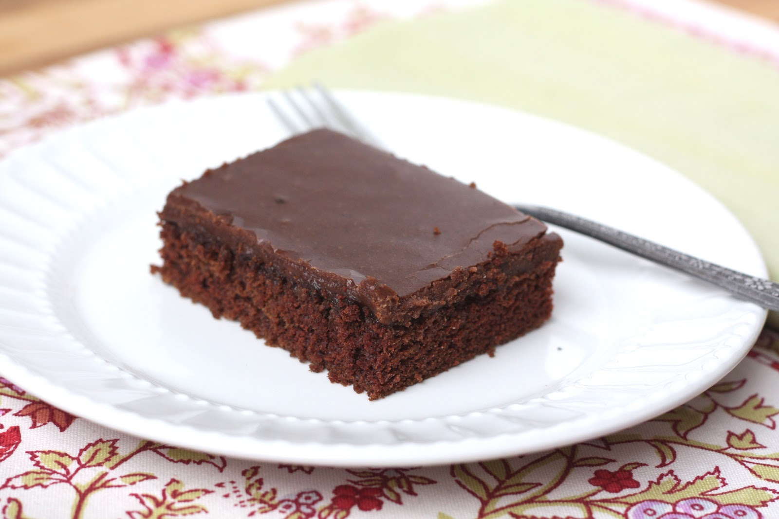 ... In The Kitchen: Texas Sheet Cake a.k.a. Best Chocolate Cake Ever