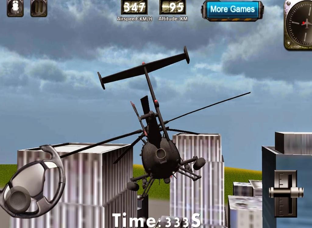 Android Helikopter 3D Uçuş Simülatörü Apk resimi 5