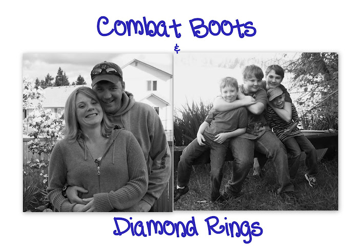 Combat Boots &amp; Diamond Rings