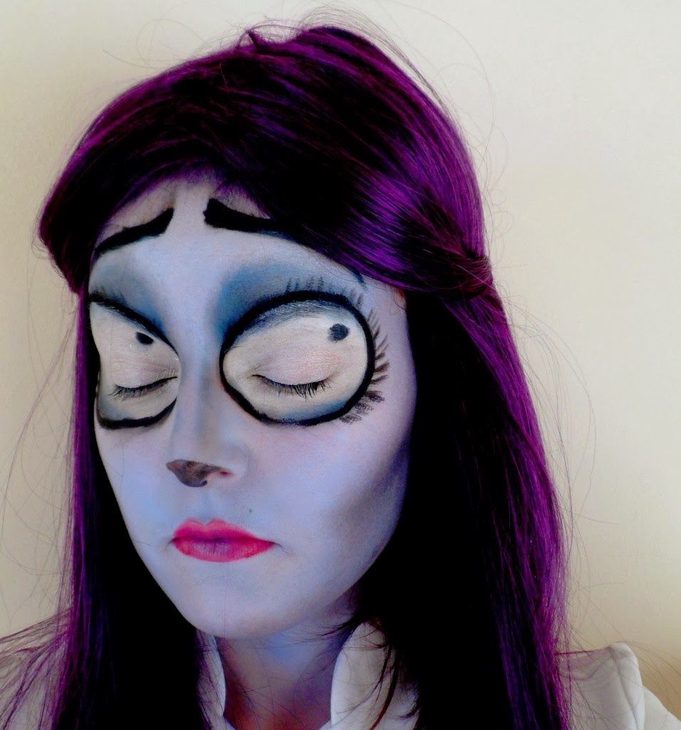 mu halloween, tim burton makeup, noce funebres