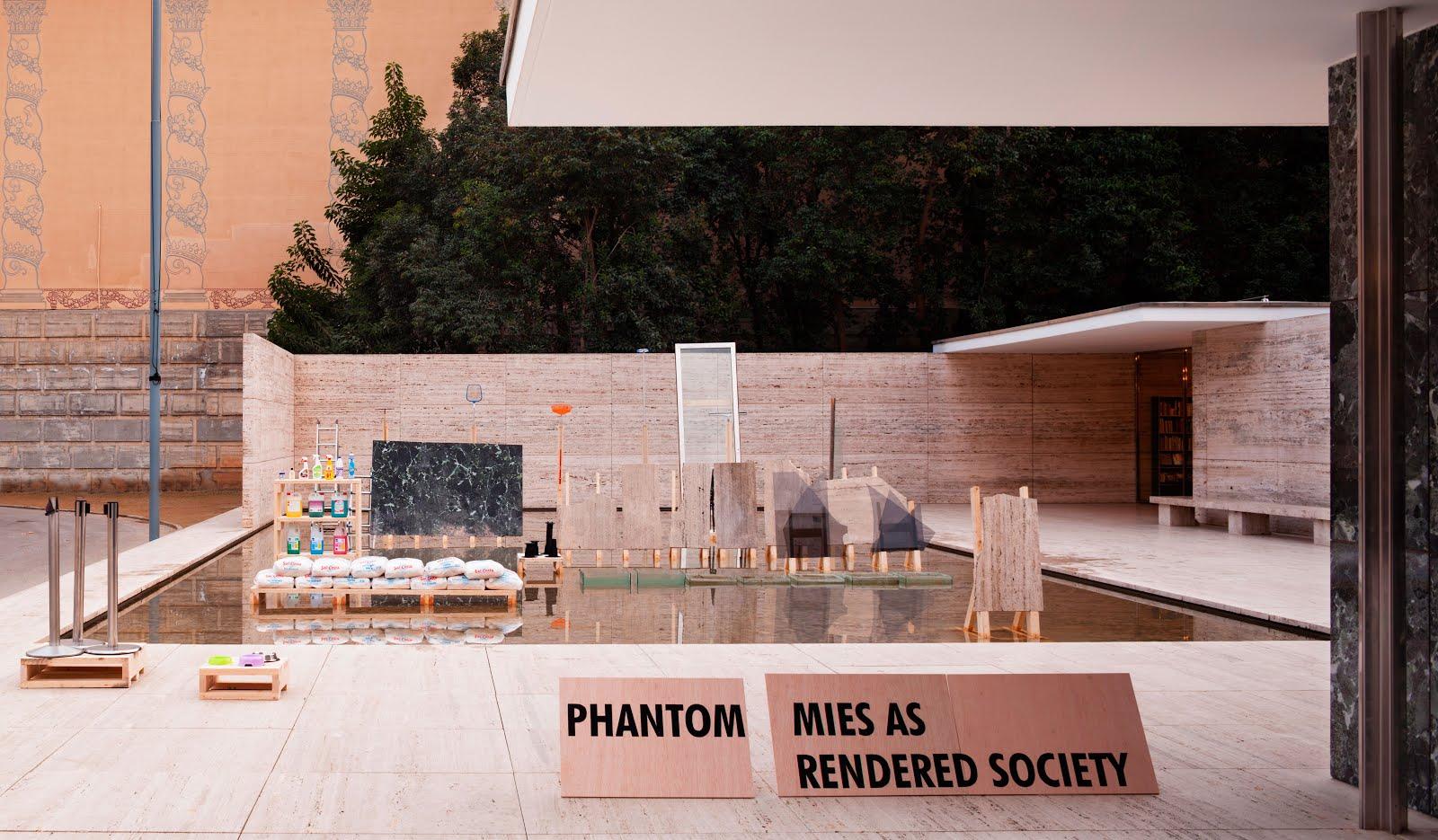 PHANTOM. MIES AS RENDERED SOCIETY, Barcelona
