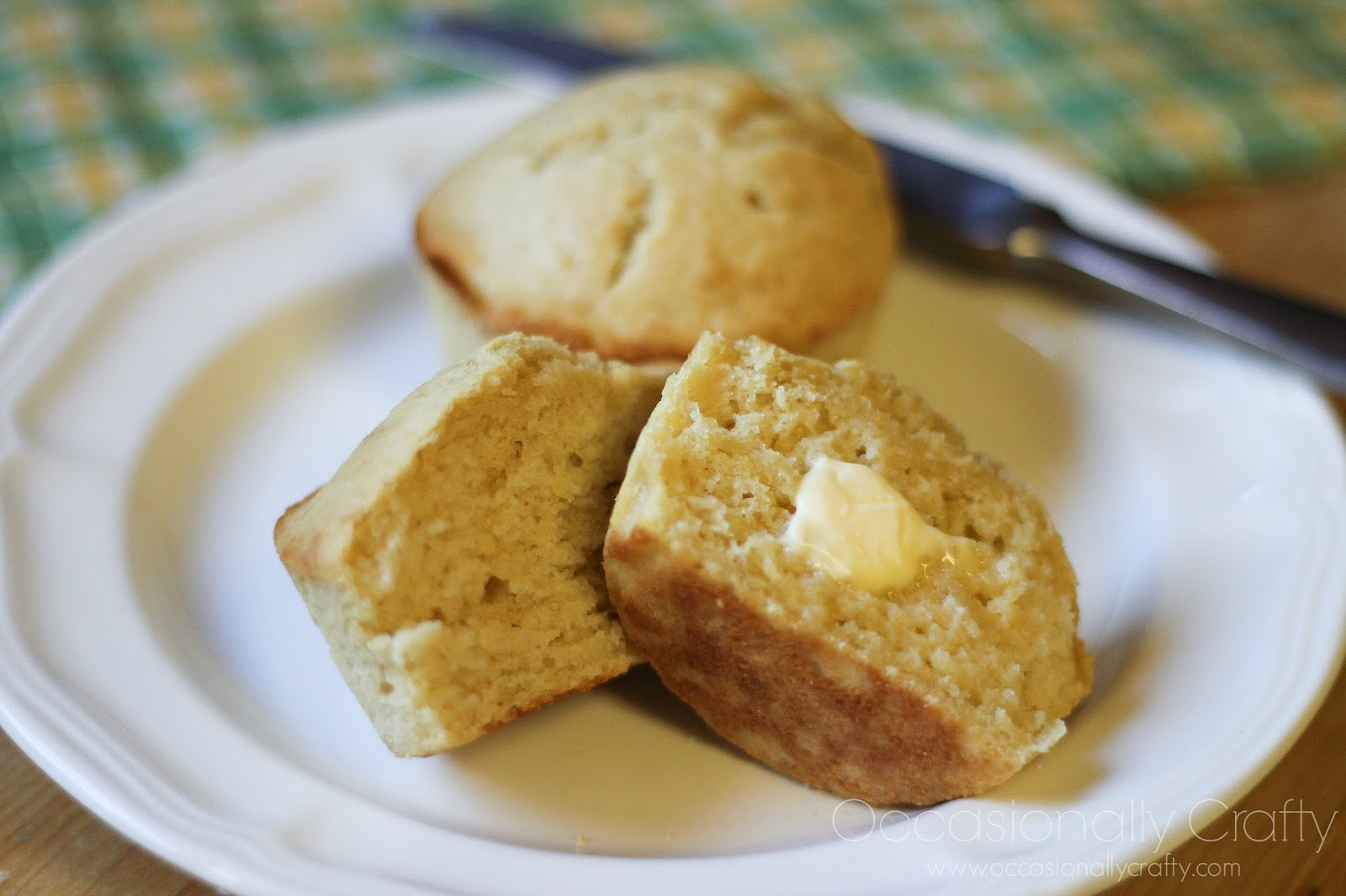 Butter Brown Sugar Muffins | Occasionally Crafty: Browned Butter Brown ...