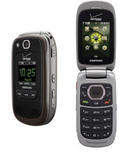 Cell Phones for Seniors: The Rugged Samsung Convoy 2 from Verizon Wireless