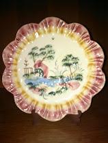 Porcelana artesana antigua