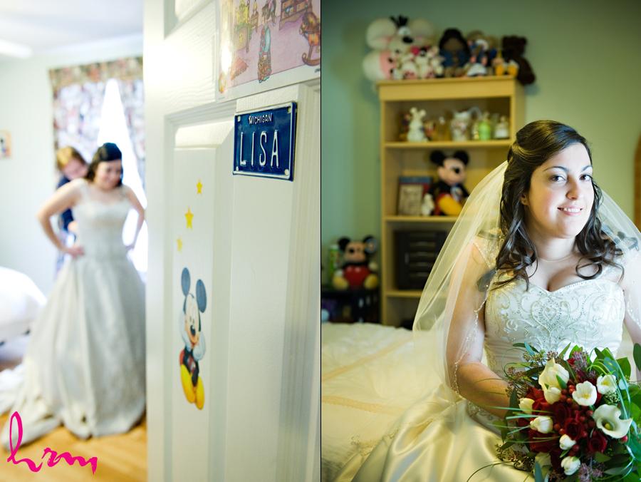 Lisa and shawn wedding