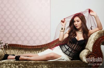 Kang Yebin Sexy Cleavage Boobs Men's Health