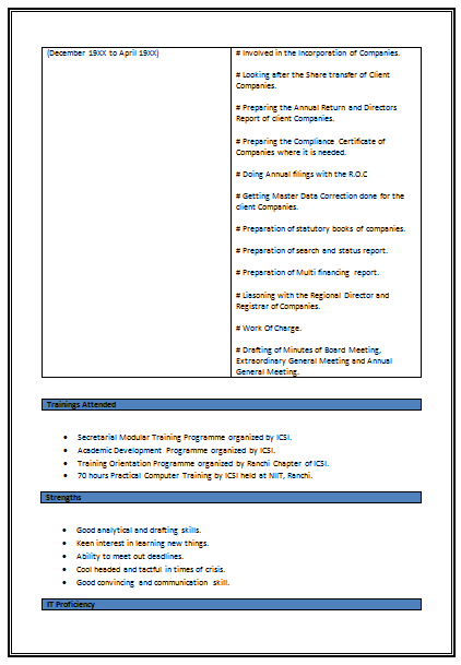 resume building companies doc814883 format of company profile
