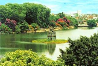 River Hoan Kiem, Hanoi
