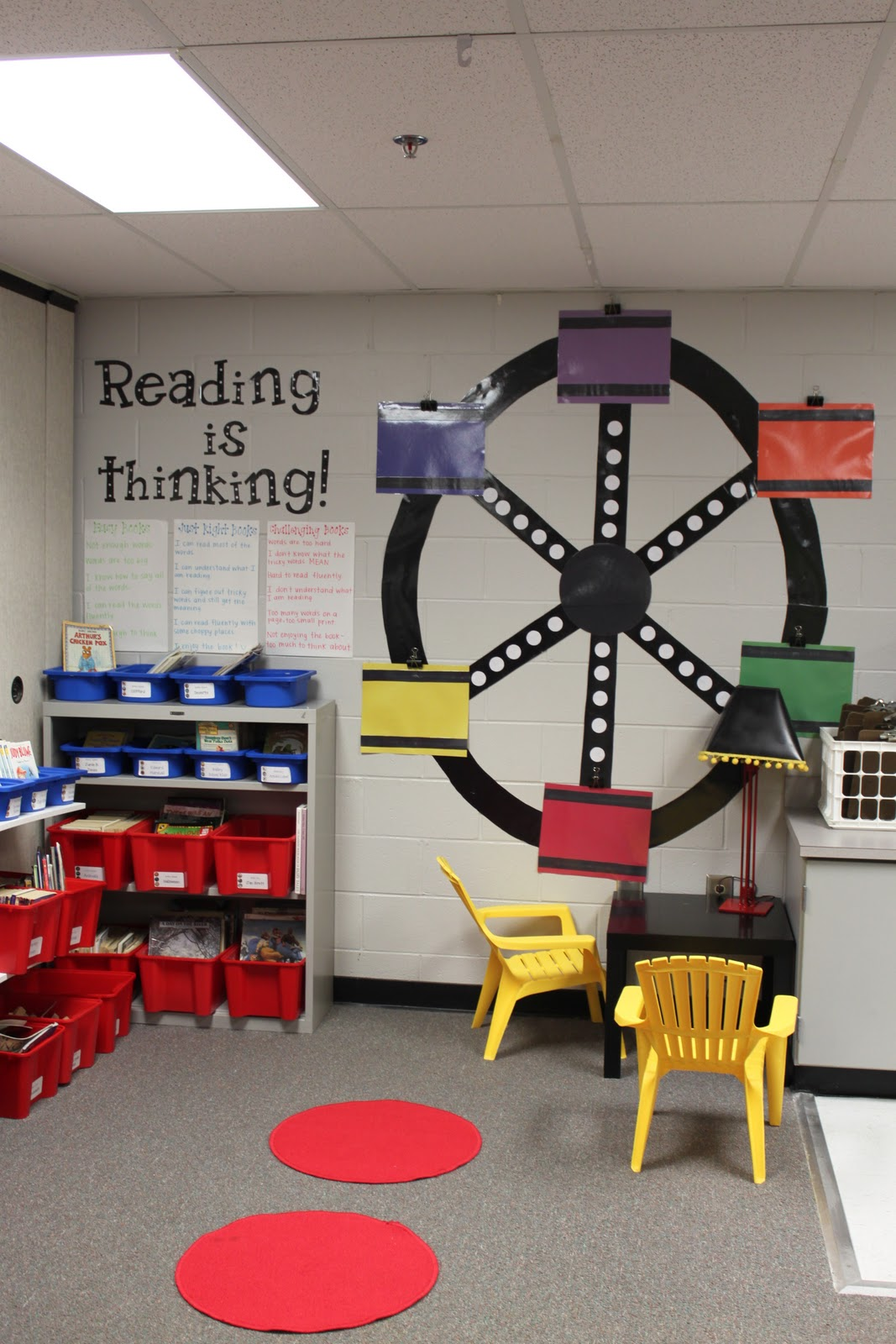 Beautiful Classroom Decoration Ideas ~ Dandelions and dragonflies moving a beautiful classroom