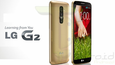 LG G2 in Gold coming soon in Taiwan