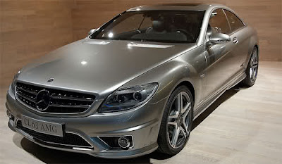 Mercedes Benz CL Class (CL 500/600/55 AMG) service manual