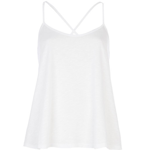http://www.riverisland.com/women/t-shirts--vests--sweats/plain-t-shirts--vests/White-cross-back-cami-top-652745