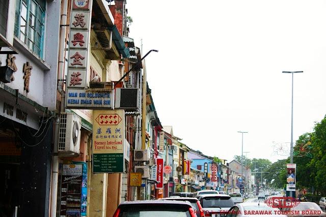 Kuching Sarawak Main Bazaar