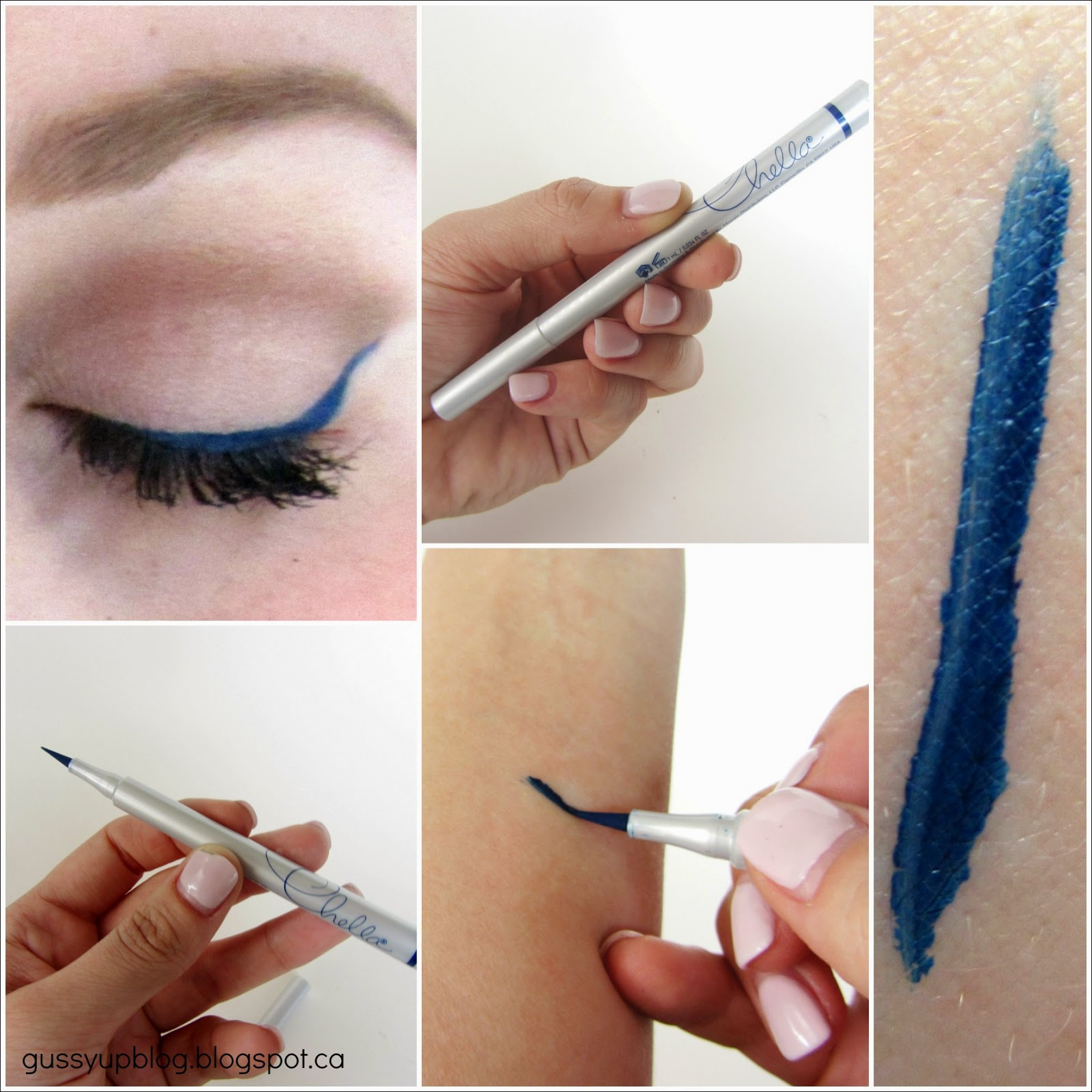 Chella Eyeliner Pen, Indigo Blue, Review ans Swatch