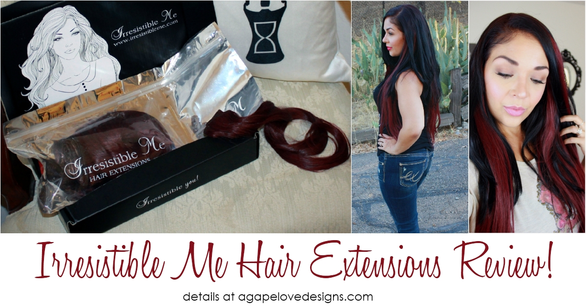 Agape Love Designs Review Irresistible Me Hair Extensions Royal
