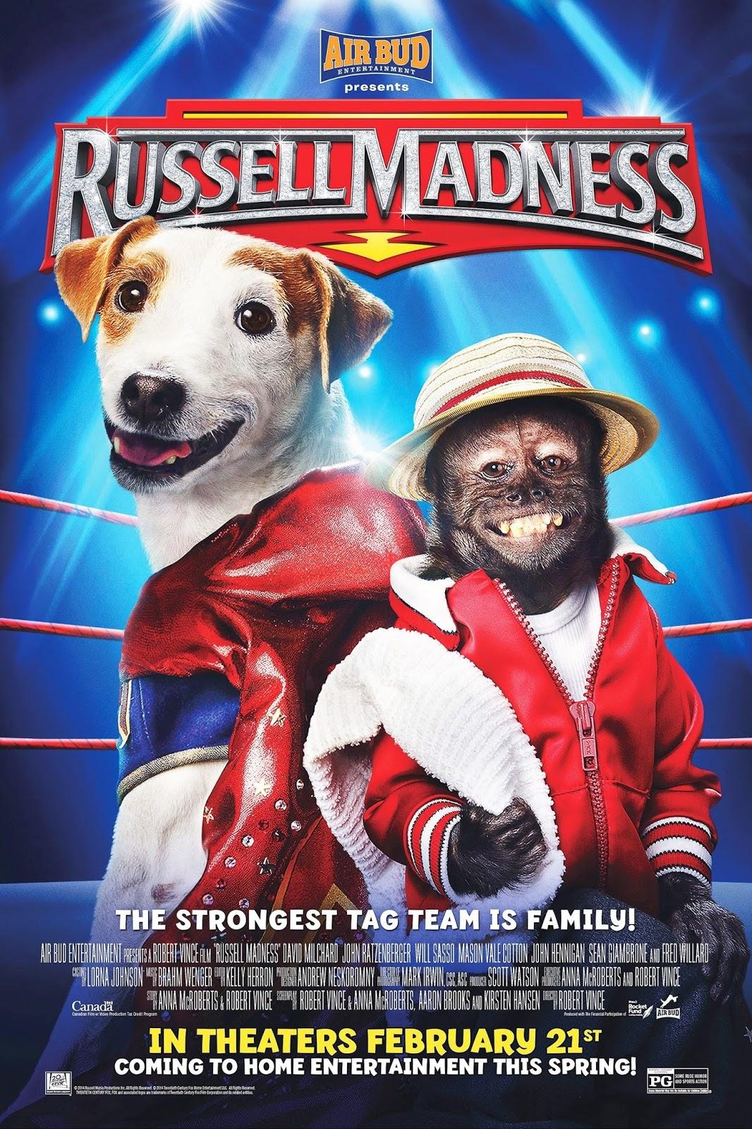 Russell: O Cãopeão – Dublado (2015)