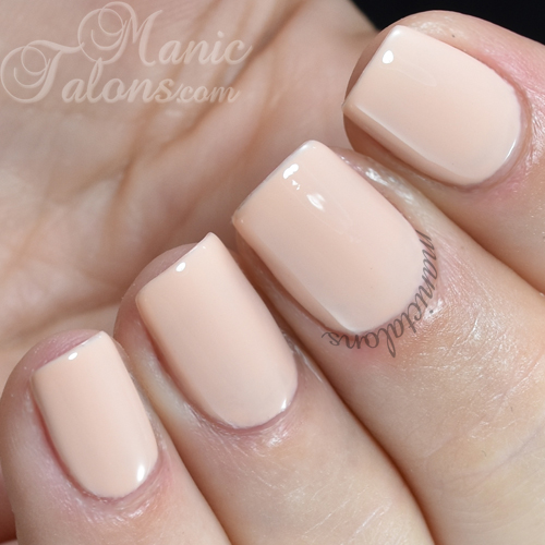 Madam Glam Gel Polish Beige Rose Swatch
