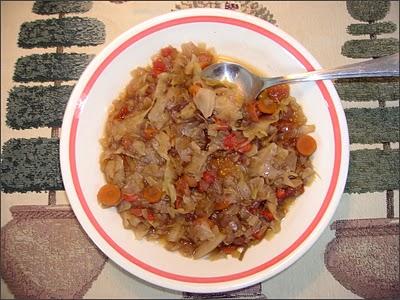 Slow Cooker Diet Cabbage Soup #lowcaloriesoup