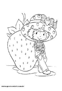 Muitos Desenhos Da Moranguinho E Sua Turminha Para Colorir