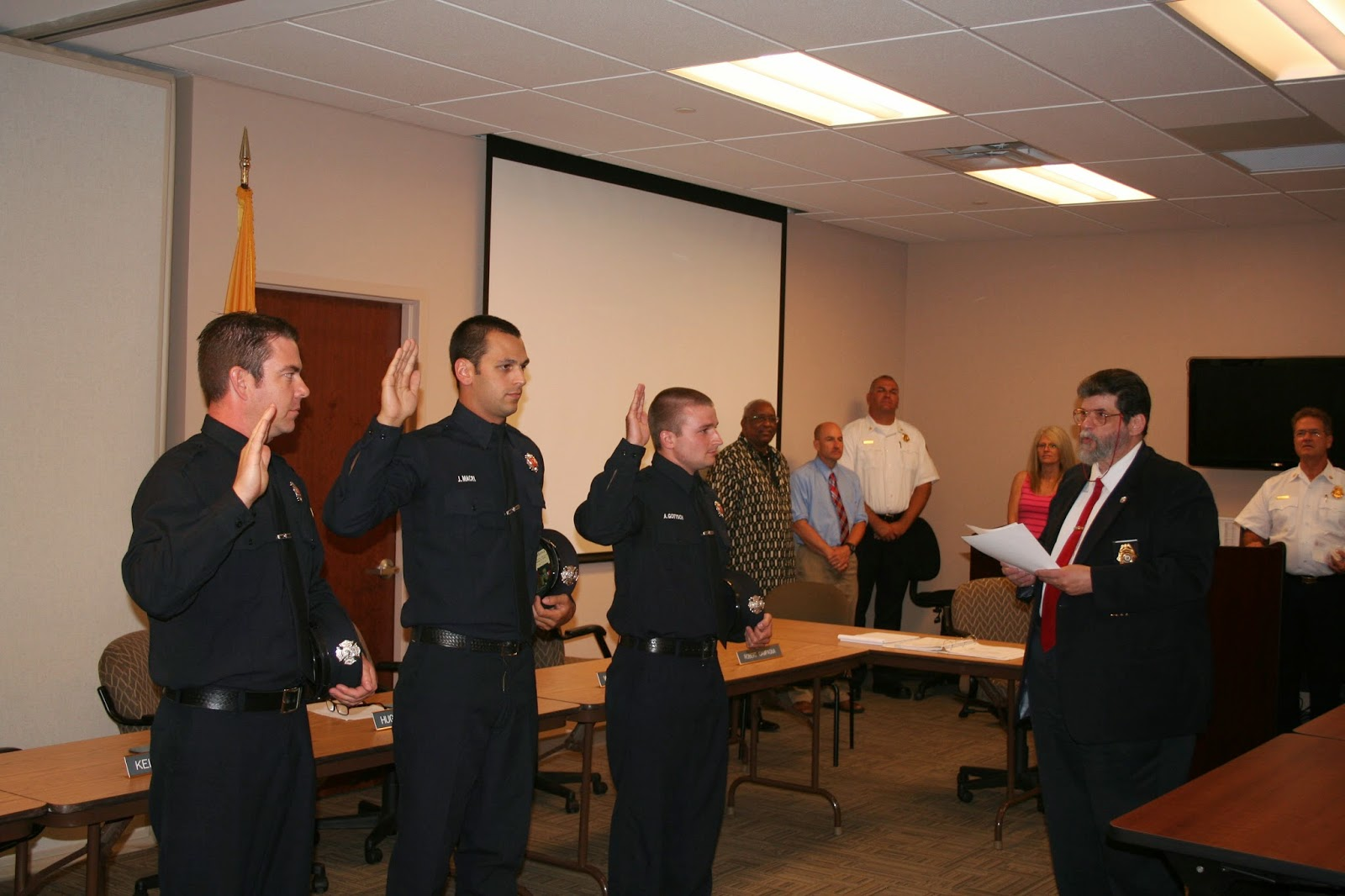 Cherry Hill News Information Firefighters Take Oath of Office – Oath of Office Template