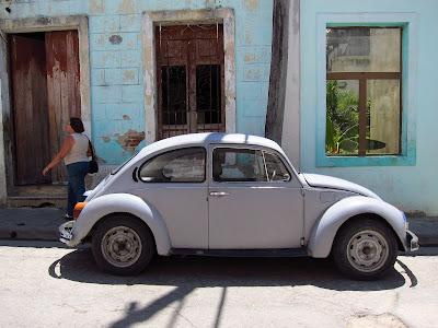 Santiago de Cuba car on street
