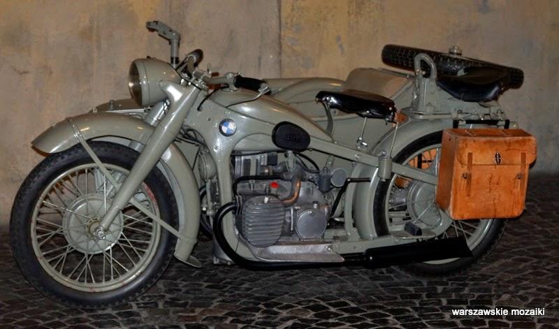motocykl Elektrownia Tramwajów Miejskich muzea warszawskie Warszawa Powstanie Warszawskie Wola ekspozycja Grzybowska