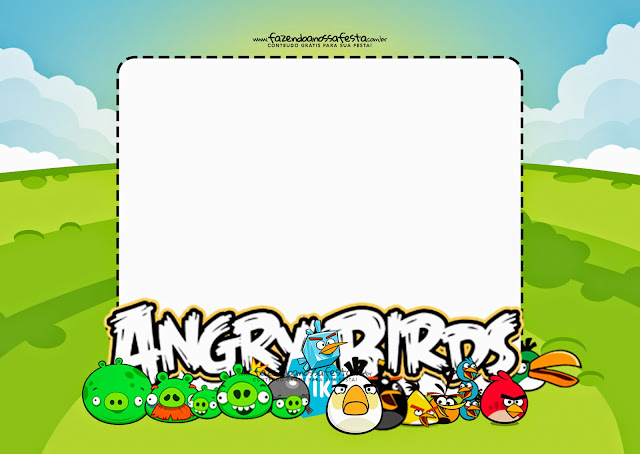 Angry Birds Invitation was adorable invitations template