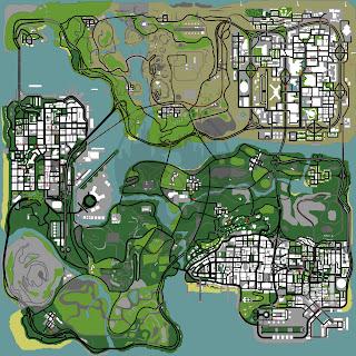 Do mapa do gta san andreas que nel a esta mostrando tds as casas que