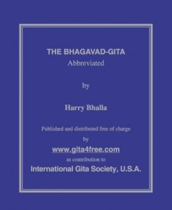 Get Free The Bhagavad-Gita