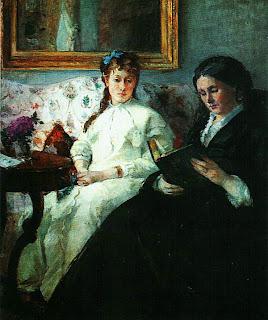Берта Моризо. Мать и сестра художницы. 1869 — 1870.