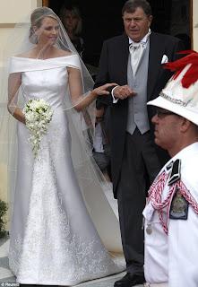 0 Charlene Wittstock & Príncipe Albert de Mônaco