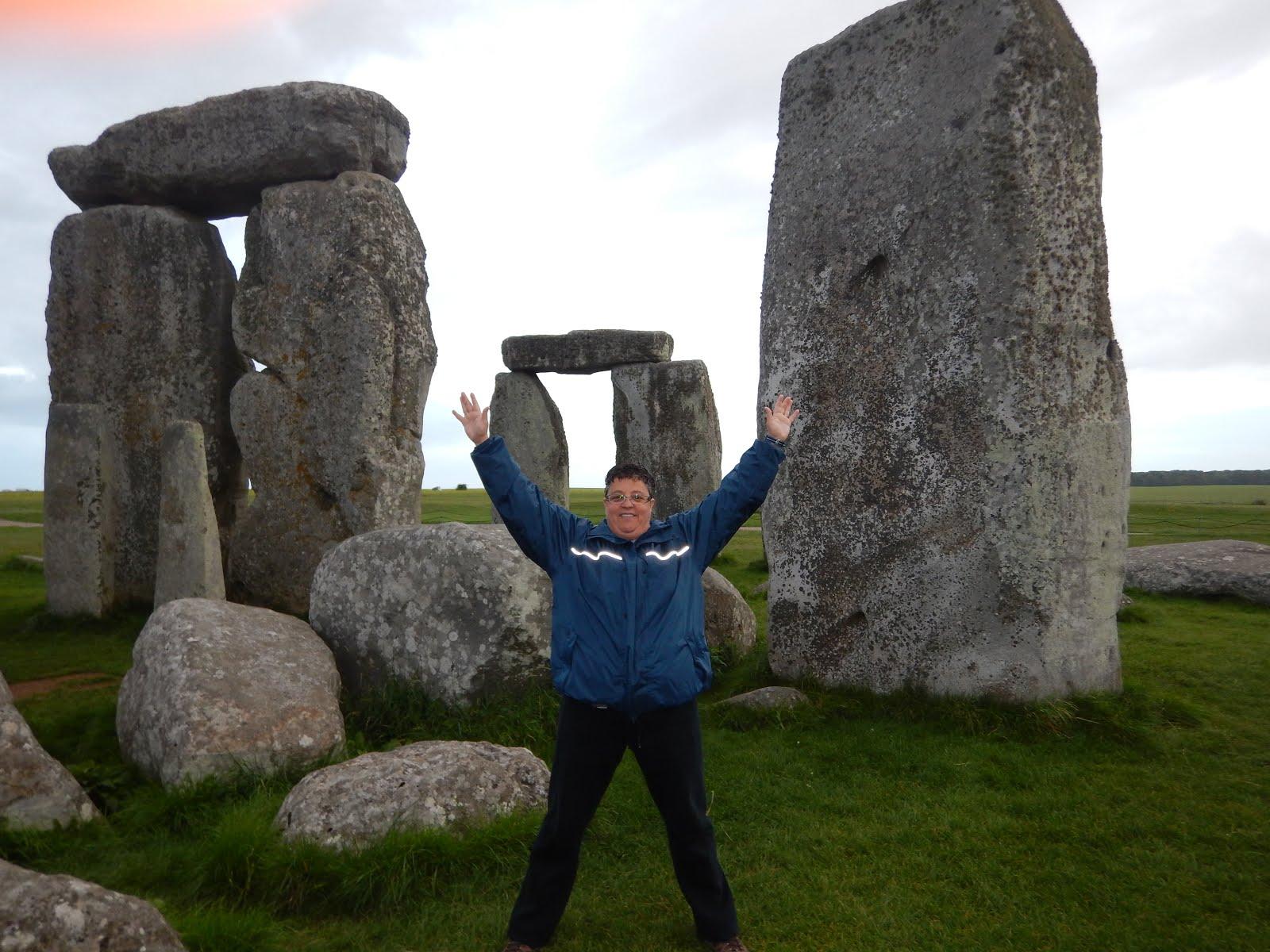 Angleterre Stonehenge Juillet 2017