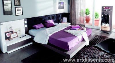 muestra un claro ejemplo de la decoracion de dormitorios matrimoniales