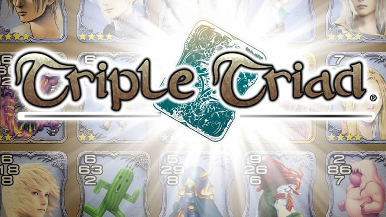 Triple Triad - FINAL FANTASY PORTAL APP Gameplay IOS / Android