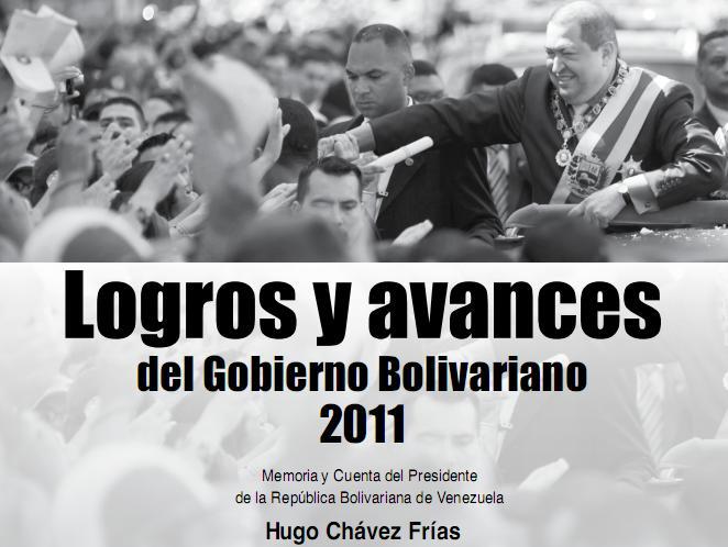 2007 2012 plan presidente venezuela proyecto nacion:
