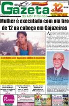 O UNICO JORNAL DO ALTO PIRANHAS DE CAJAZERIAS PB