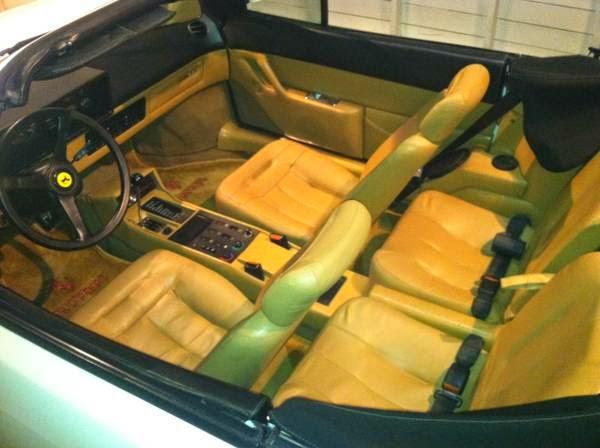 just a car geek 1985 ferrari mondial cabriolet a vacation car. Black Bedroom Furniture Sets. Home Design Ideas