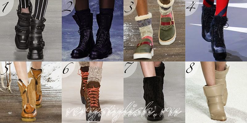 Winter 2015 Women's Footwear Fashion Trends