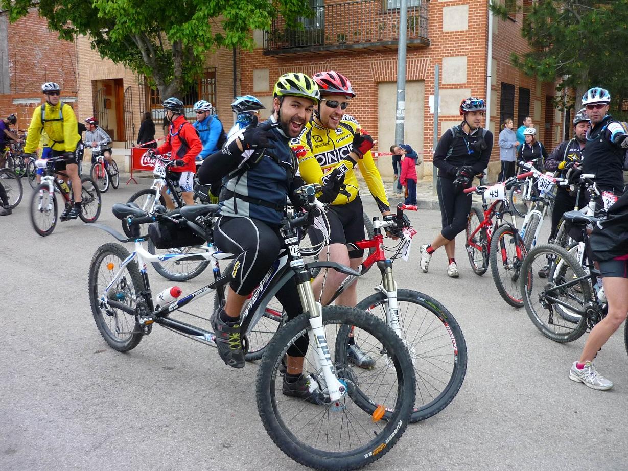 Blog Go Tandem - I Marcha MTB Charcuela Bike - antes de la salida