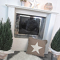 DIY: KORISTE TAKKAMANTTELI [DECORATIVE FIREPLACE]
