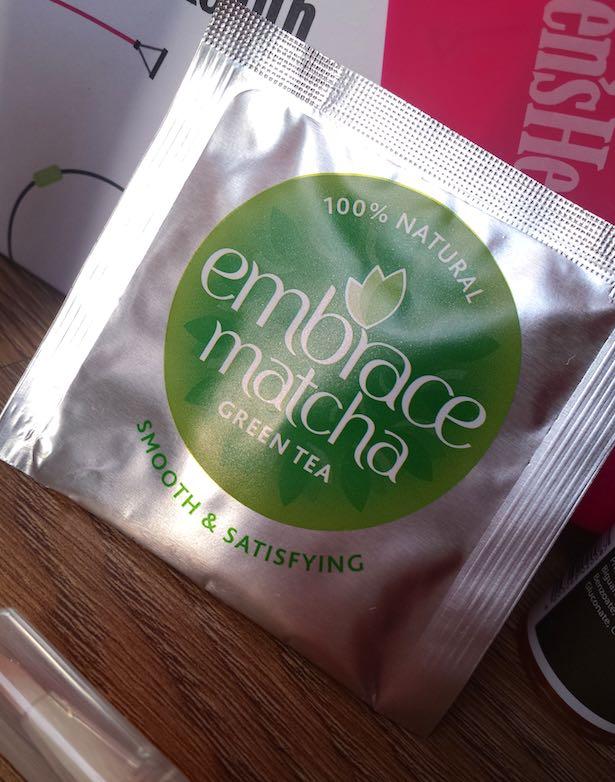 Embrace Matcha Green Tea - Birchbox and Women's Health January 2015 box