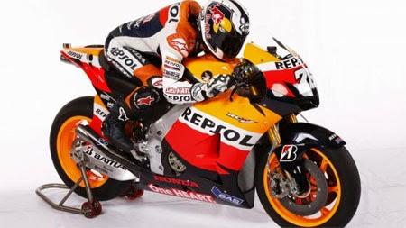 Motor balap Repsol Honda