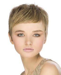 Corte de pelo estilo frances para mujer