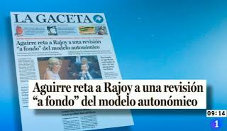 La Gaceta ha sido inlcuida en la revista de prensa de Los Desayunos