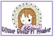 GLITTER GEEKS DESIGN TEAM MEMBER DEC 2011 - APRIL 2012