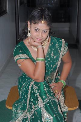 amrutha valli in saree unseen pics