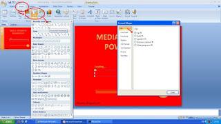 Efek loading Powerpoint