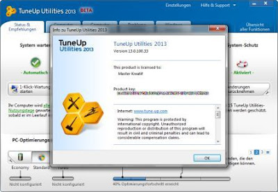 Download Software TuneUp Utilities 2013 full version Gratis