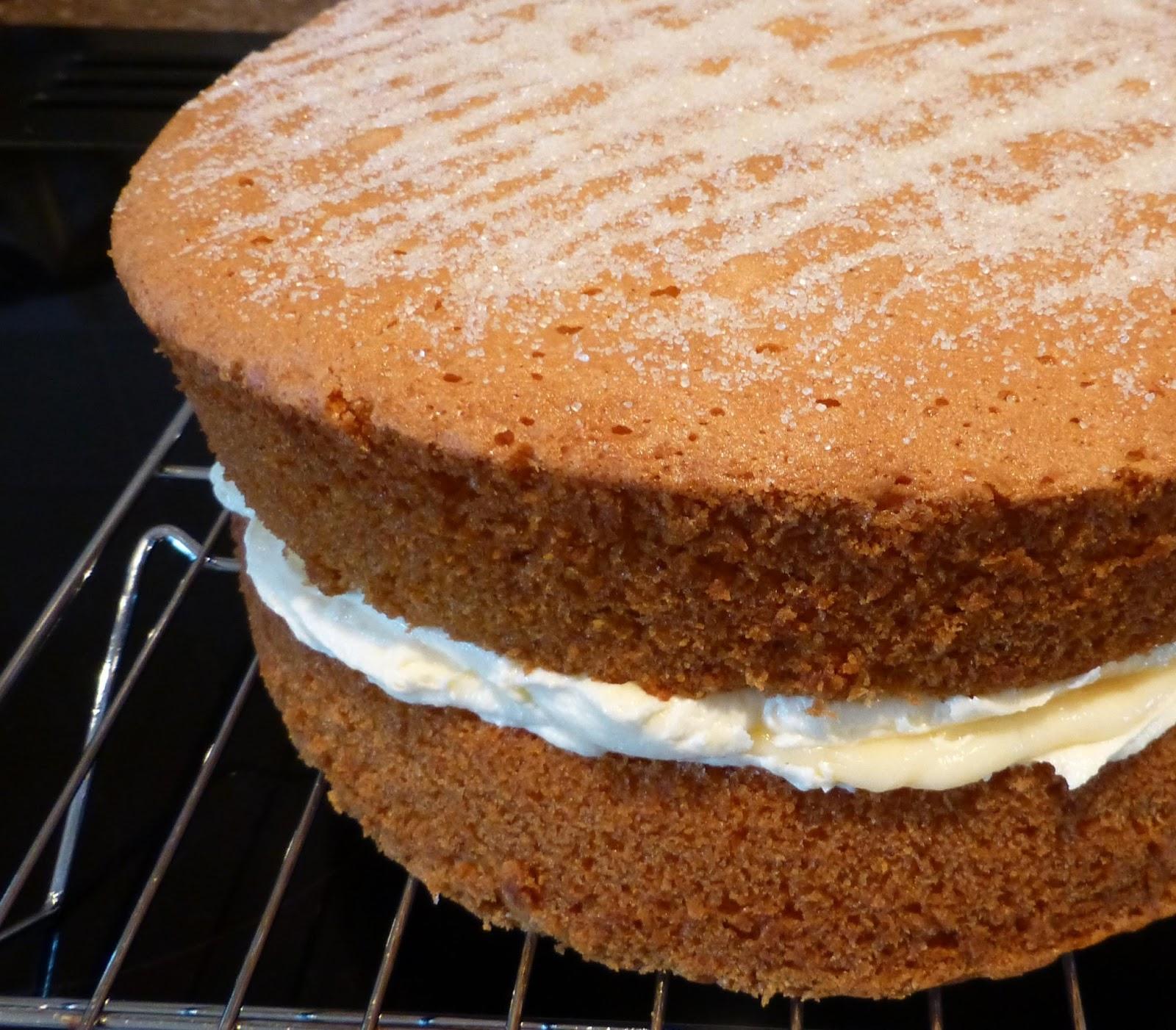 Vanilla Sponge Cake Recipe Thermomix