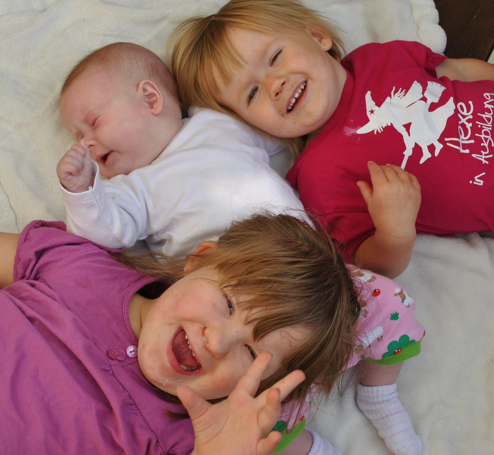 meine 3 Mädels